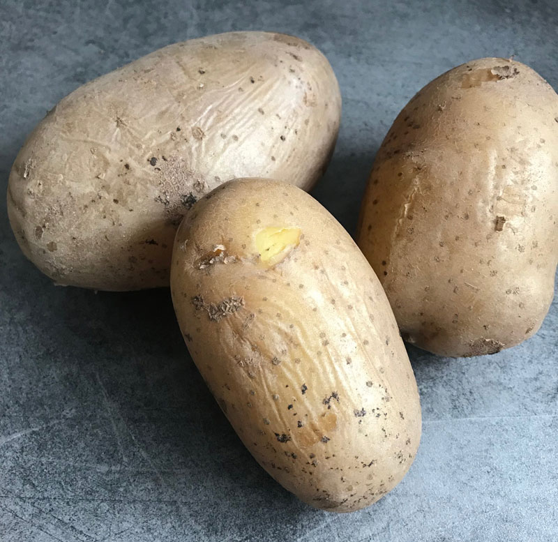 Knusprige Bratkartoffeln nach Ayurvedischer Art